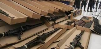 El secretario de Relaciones Exteriores, Marcelo Ebrard afirmó que Estados Unidos debe hacer mucho más para frenar el tráfico de armas hacia México y dijo que el objetivo no solo es reducir el ingreso de armamento sino congelarlo.