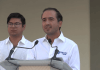 """Este lunes en el Zócalo de Veracruz, el presidente municipal Fernando Yunes Márquez anunció la campaña """"Septiembre, mes del Testamento"""", que se realiza a través del Sistema DIF Municipal de Veracruz."""