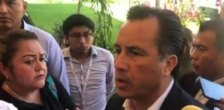 El gobernador del estado, Cuitláhuac García Jiménez volvió a culpa al ex fiscal general del Estado, Jorge Winckler Ortiz, por los recientes hechos de violencia.