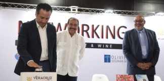 Este jueves, el gobernador del estado, Cuitláhuac García Jiménez inauguró el primer encuentro de Networking by World Trade Center Veracruz (WTC), como parte de un relanzamiento del Turismo de Congresos y Convenciones.