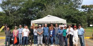 Este domingo 15 de septiembre, se llevó a cabo la Jornada de Reforestación Parque Natura 2019, organizado por la fundación Salvemos el Agua A.C., en coordinación con la Universidad de Xalapa y la Secretaría de Medio Ambiente (SEDEMA).
