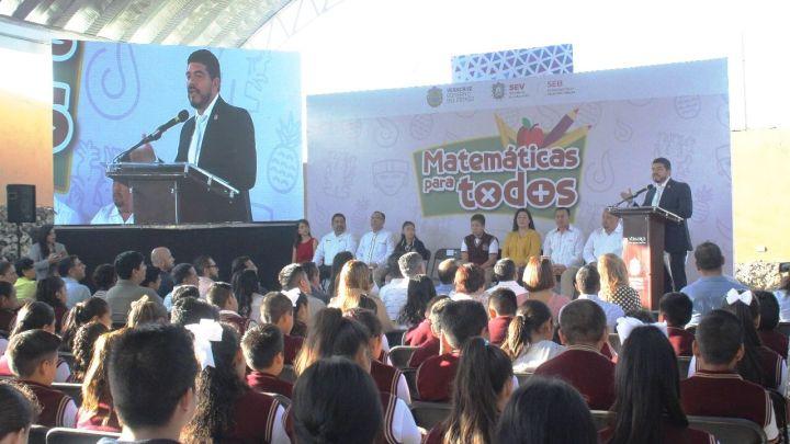 """Presenta SEV programa """"Matemáticas para Todos"""""""