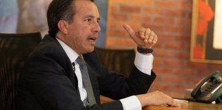 """El gobernador del estado de Veracruz, Cuitláhuac García Jiménez afirmó que pese a las diferencias políticas que tenía con el ex fiscal Jorge Wincker Ortiz, nunca existió """"descoordinación"""" dentro de la Fiscalía, ya que siempre estuvo presente cierta institucionalidad."""