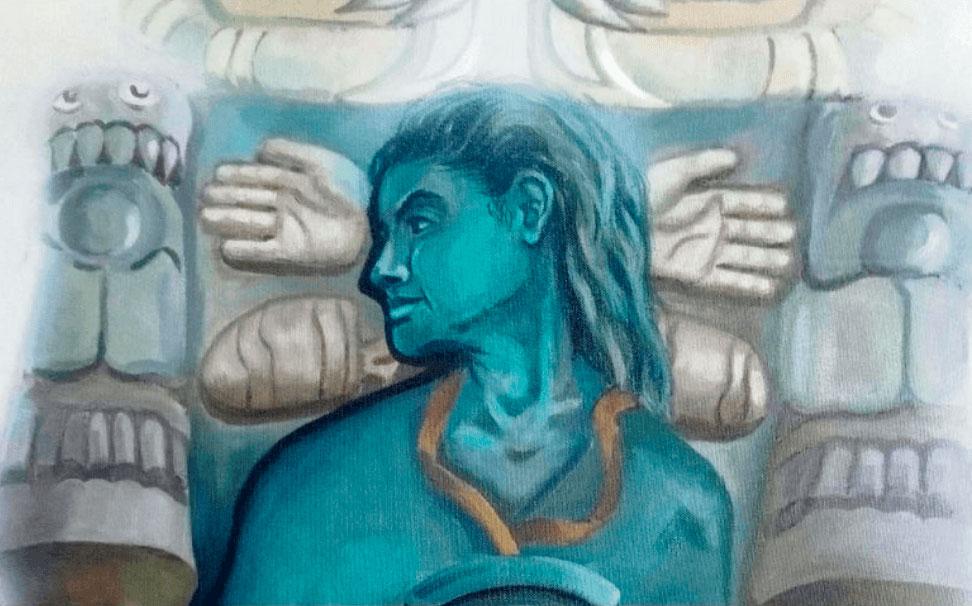 """El artista plástico Obed Calderón inaugurará el próximo 16 de octubre la exposición """"La ruta del crisol"""", con obra pictórica, en cerámica y bocetos de sus murales."""