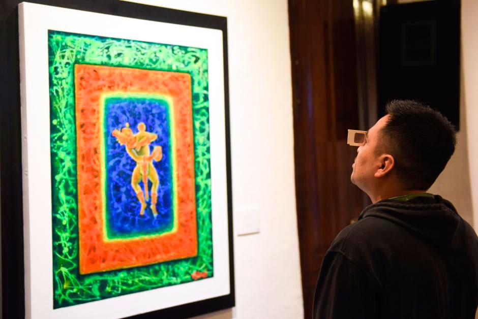 Se inauguró la exposición Arte Prehispánico en 3D (tercera dimensión) del pintor poblano Bernardino Cerqueda Pliego, que estará en exhibición hasta el 9 de noviembre en las salas 1 y 2 del Centro Recreativo Xalapeño (CRX).