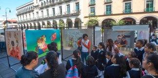 En el marco del 30 aniversario de la Convención sobre los Derechos del Niño, autoridades del Ayuntamiento de Xalapa inauguraron en el parque Benito Juárez la exposición Los niños y las niñas tenemos derecho a tener Derechos, que se mantendrá hasta el 28 de octubre.