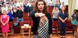 Este martes, en sesión de Cabildo, se nombró a Dolores Emelia Valenzuela Ponce como la nueva encargada de la Tesorería Municipal de Xalapa.