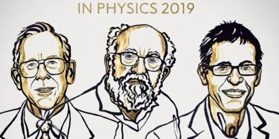 La Real Academia de las Ciencias de Suecia concedió el Premio Nobel de Física 2019 a los suizos Michel Mayor y Didier Queloz, y al estadunidense James Peebles por sus contribuciones a la cosmología física y al descubrimiento de los exoplanetas.