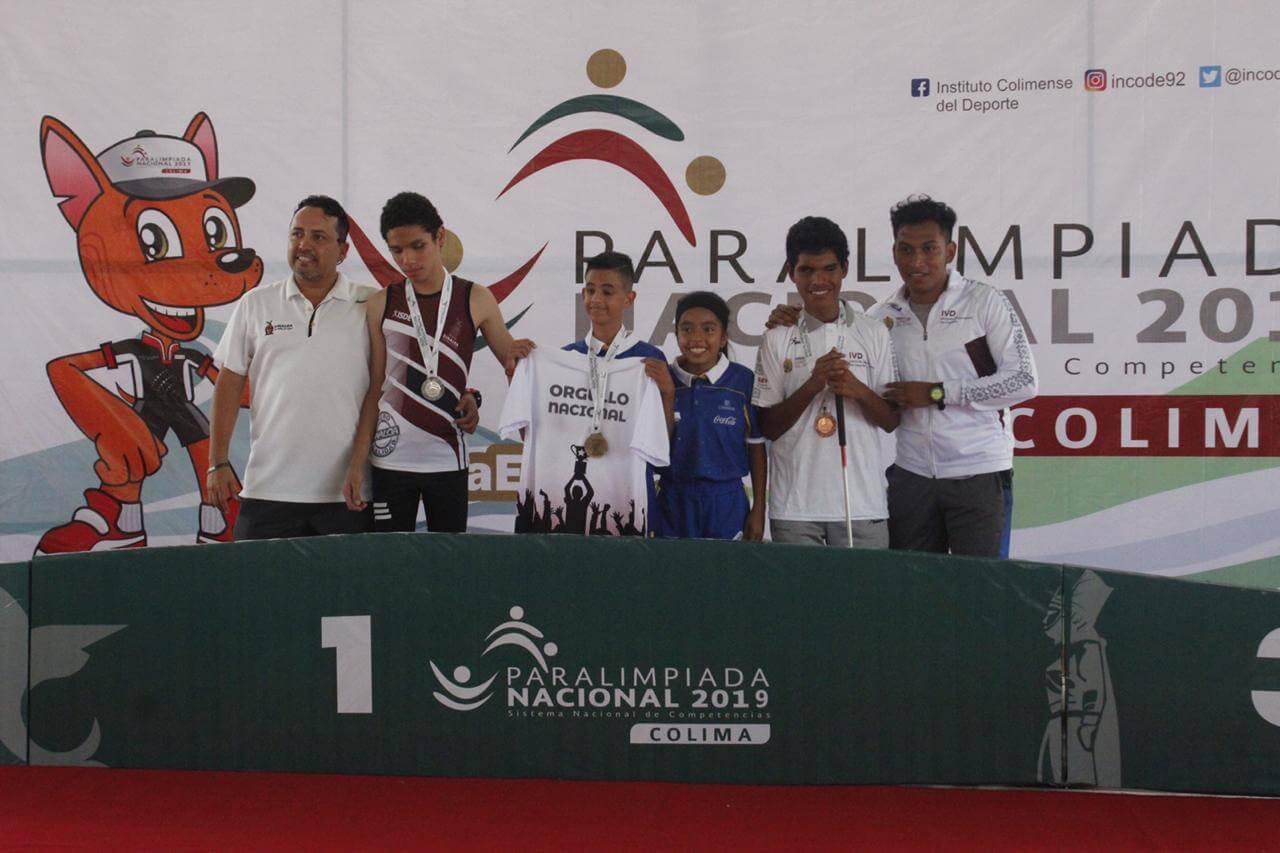 La delegación veracruzana tuvo un buen inicio en la edición 2019 de la Paralimpiada Nacional al conseguir nueve medallas en la disciplina de atletismo: dos oros, cuatro platas y tres bronces.
