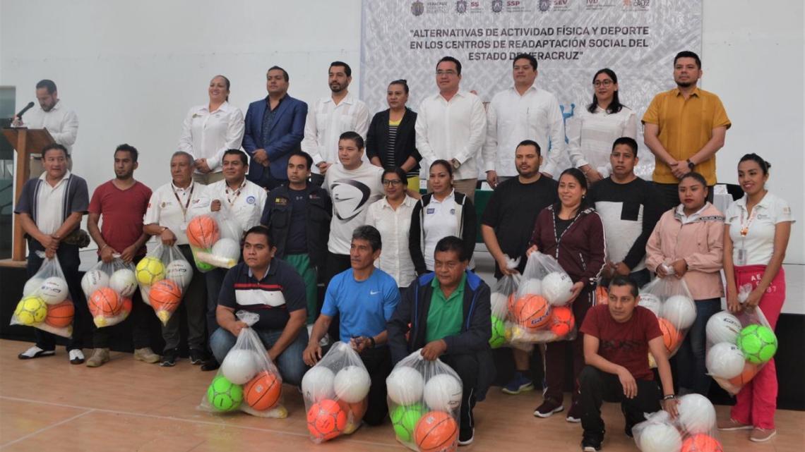 Imparten Curso-Taller de actividades deportivas para CERESOS