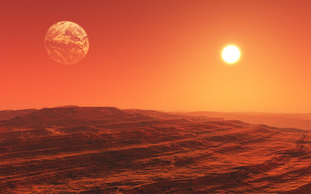 Diseño de interiores: Planeta Marte