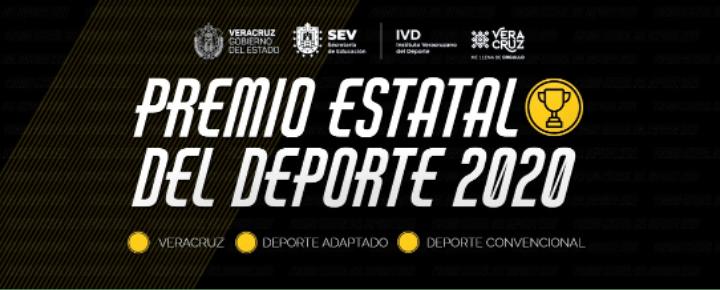 Convoca IVD a participar por el Premio Estatal del Deporte 2020