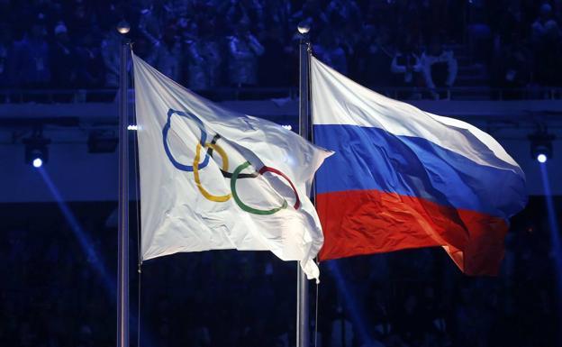 Rusia queda fuera de los Juegos Olímpicos de Tokio