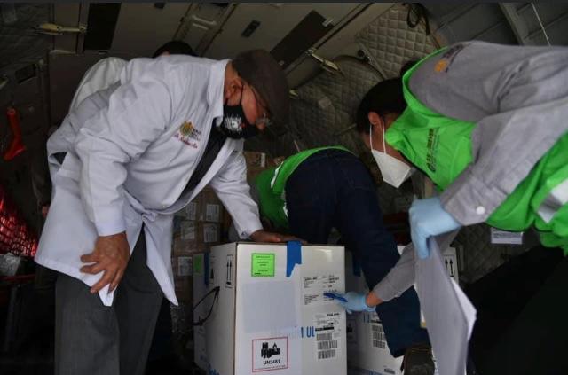 Se distribuye en el estado la vacuna AntiCovid.