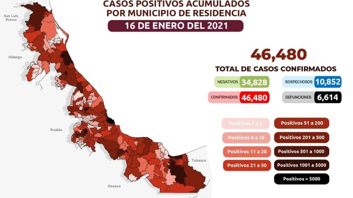 COMUNICADO   Estrategia Estatal contra el coronavirus 16/01/2021