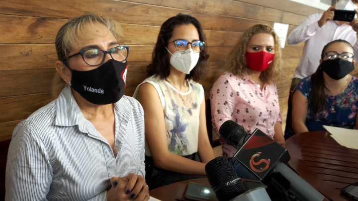 Denuncian RSP que Elizabeth Morales quiere imponer candidata en Xalapa.