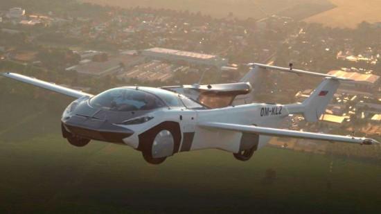 Un automóvil volador recorrió 80 kilómetros en el aire