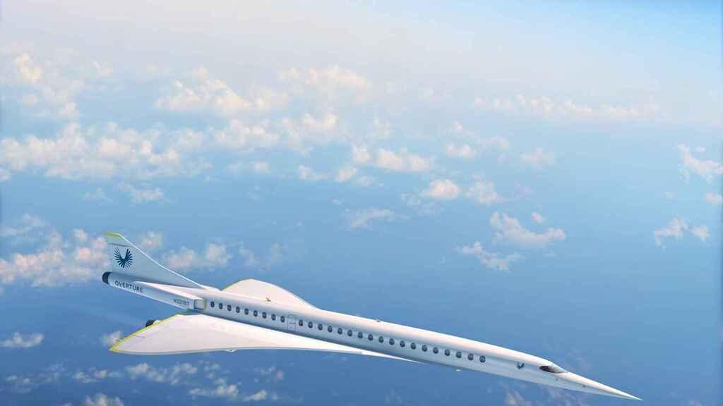 Overture, el nuevo avión supersónico que promete viajar de Londres a NY en 3 horas