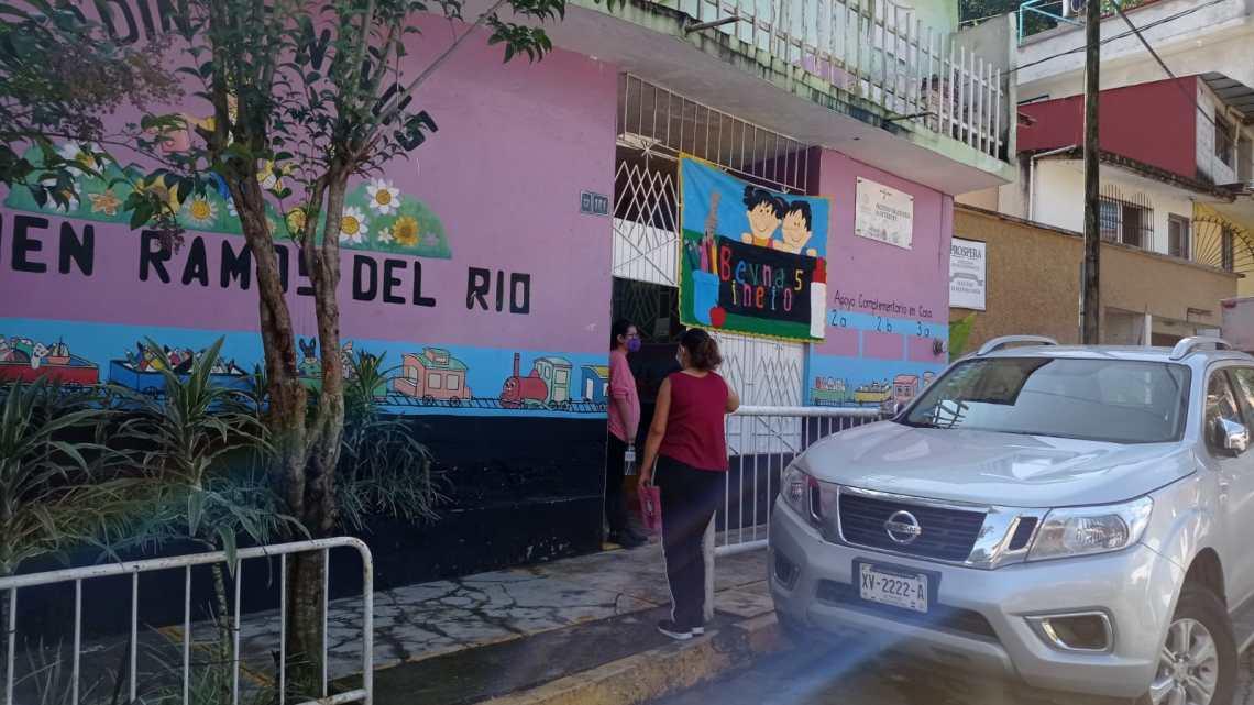 Muchas escuelas en Xalapa no iniciaron el ciclo escolar 2021-2022