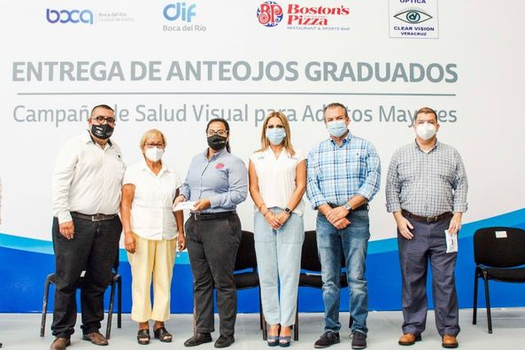 DIF de Boca del Río realiza campaña de salud visual