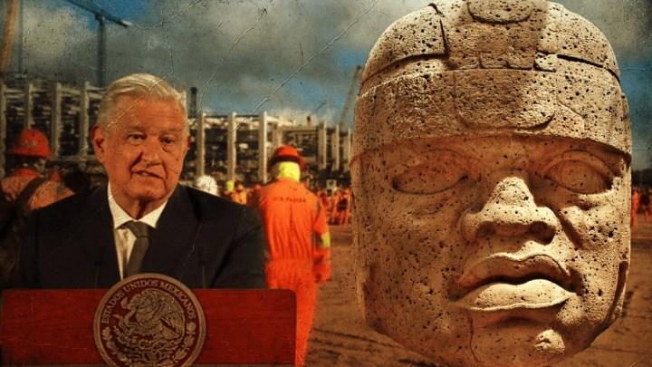 """La refinería de Dos Bocas, Tabasco se llamará """"Olmeca"""": AMLO"""