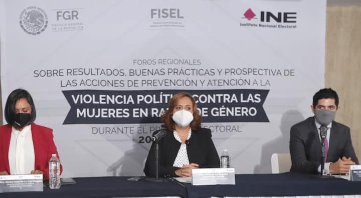 Violencia politica contra las mujeres, atenta contra la democracia: Cruz Magaña