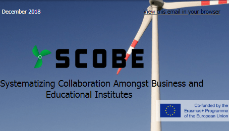 SCOBE Project – Newsletter #1