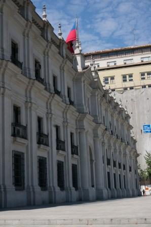 Palacio de La Moneda (Chile's presidential headquarters)