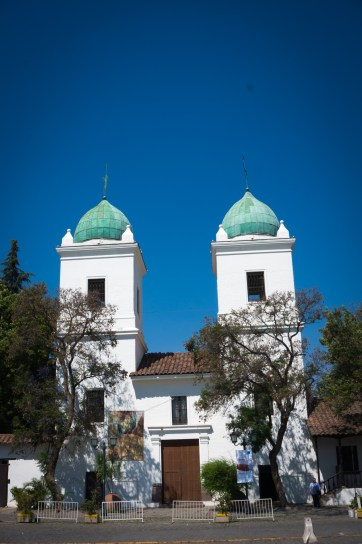 Iglesia (church) Los Dominicos. About a 20 min metro ride...there are beautiful artisan markets in the church grounds
