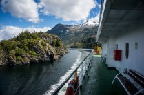 Smooth navigation captain through the narrowest channels of 80 metres - Angostura White (White Narrows)