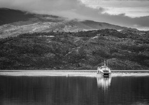 Incoming catamaran