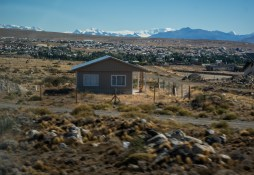 Approaching the town of El Calafate