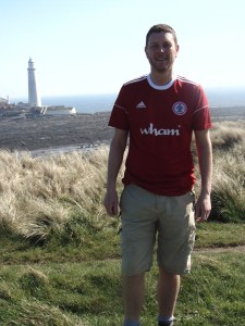 Darren in Accrington Stanley shirt