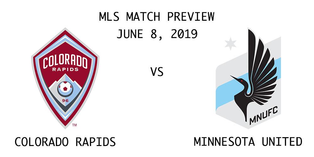 Colorado Rapids vs Minnesota United FC