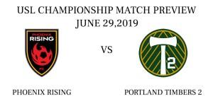 Phoenix Rising vs Portland Timbers 2