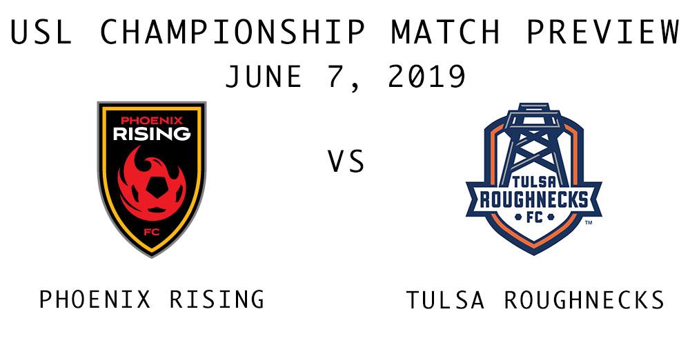 Phoenix Rising vs Tulsa Roughnecks
