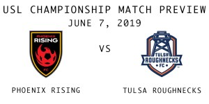 Phoenix Rising vs Tulsa Roughnecks