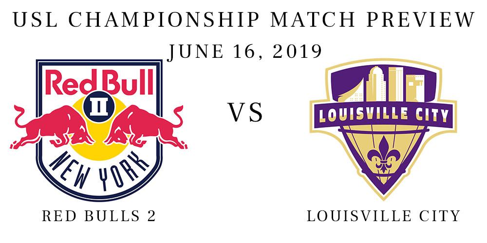 Red Bulls 2 vs Louisville City