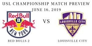 Red Bulls 2 vs Louisville City