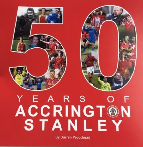 50 Years Of Accrington Stanley book cover