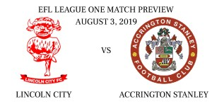 Lincoln City vs Accrington Stanley