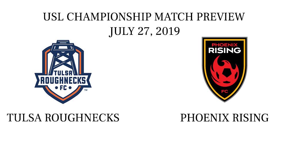Tulsa Roughnecks vs Phoenix Rising