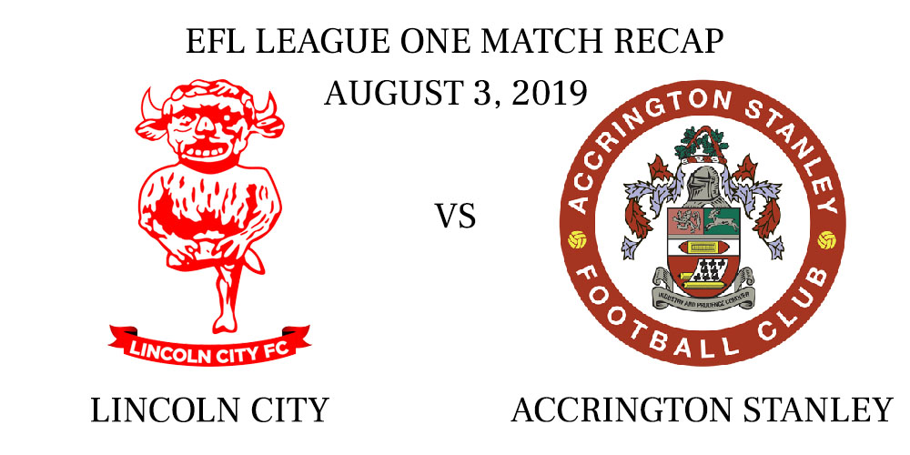 Lincoln City vs Accrington recap