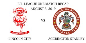Lincoln City vs Accrington recap