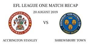 Accrington Stanley vs Shrewsbury Town recap