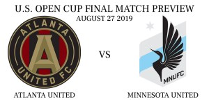 Atlanta United vs Minnesota United U.S. Open Cup Final 2019
