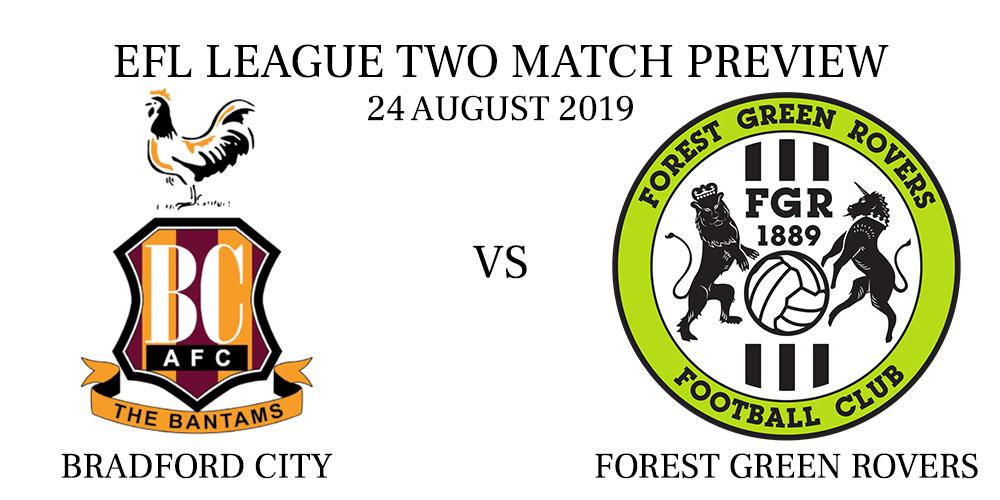 Bradford City vs Forest Green Rovers