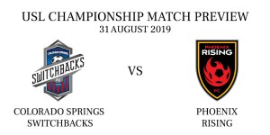 Colorado Springs Switchbacks vs Phoenix Rising
