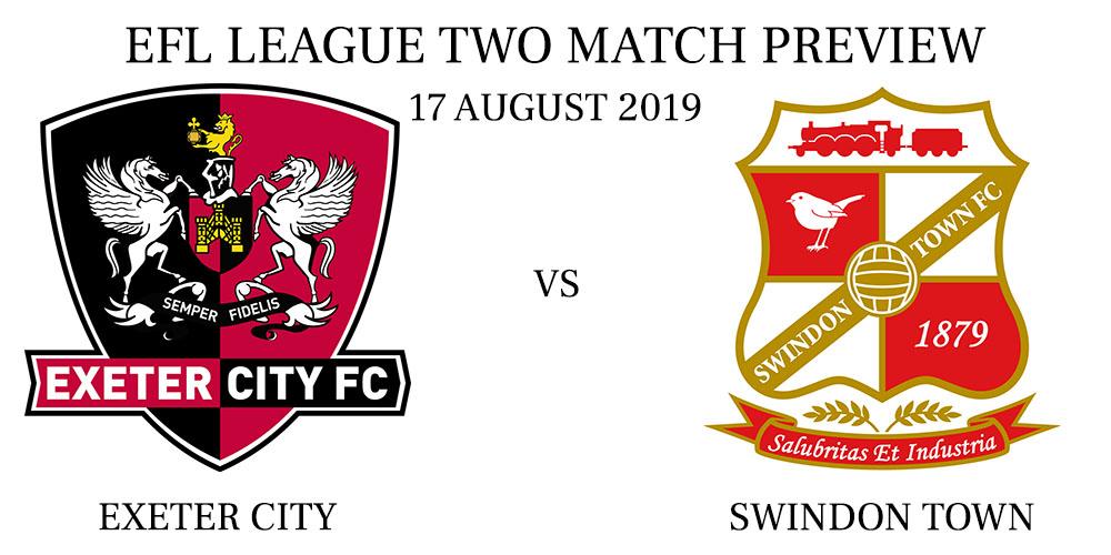 Exeter City vs Swindon Town