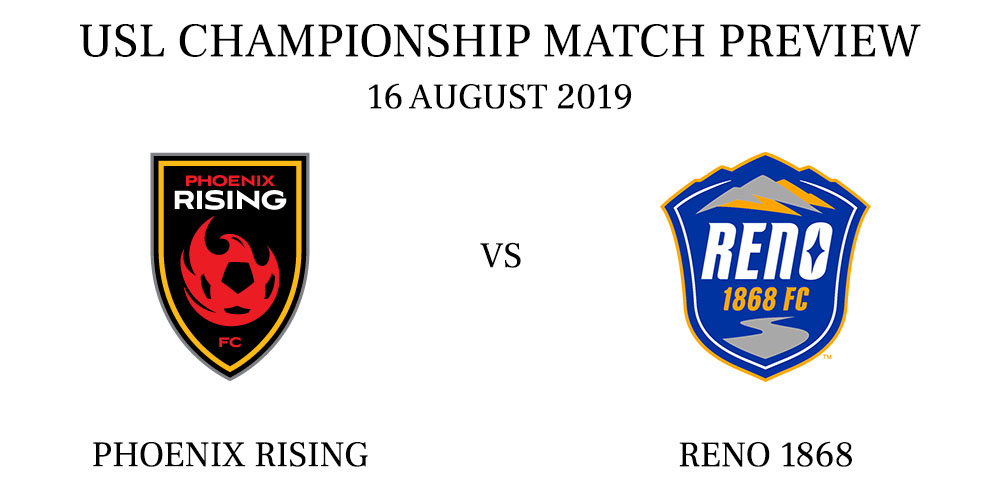Phoenix Rising vs Reno 1868
